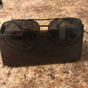 Men's polarized Gucci sunglasses